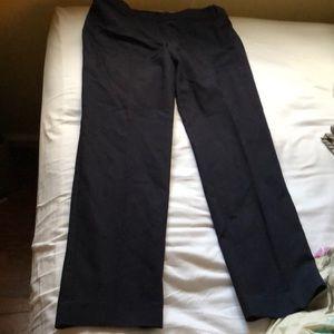 Ann Taylor pants navy blue 8